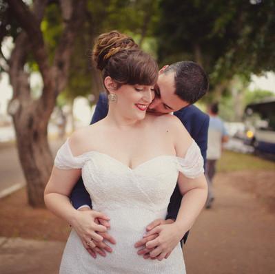 חתונה - שמלת כלה של אפרת - יערה מן