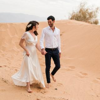 חתונה- שמלת הכלה של בר - יערה מן