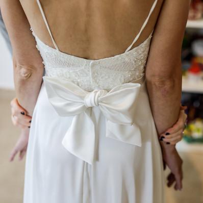 חתונה- שמלת הכלה של מיכל