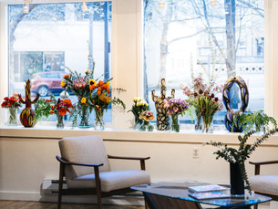 Live Floral Installation for Daisy Patton