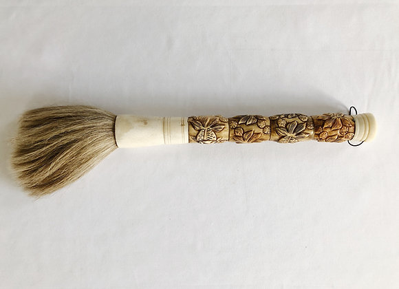 Bone Carved Calligraphy Brush