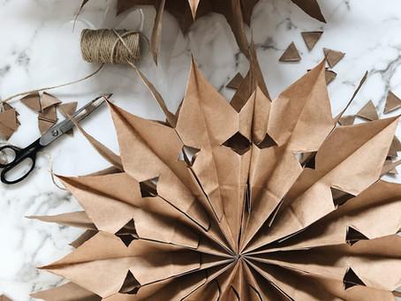 DIY Nordic Paper Stars
