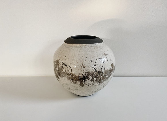Vintage Crackle Glaze Pottery