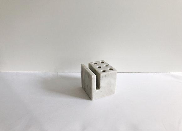 Cubed Marble Pencil/Letter Holder