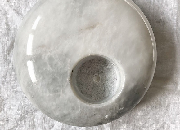 Vintage Marble Votive Holder