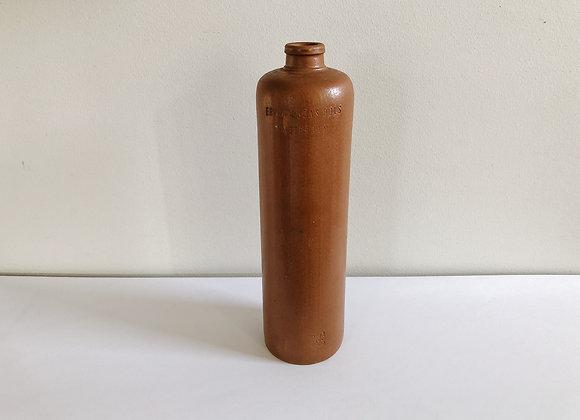Vintage Erven Lucas Clay Bottle - Amsterdam