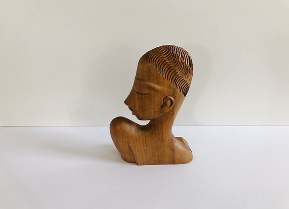 Vintage Wood Lady