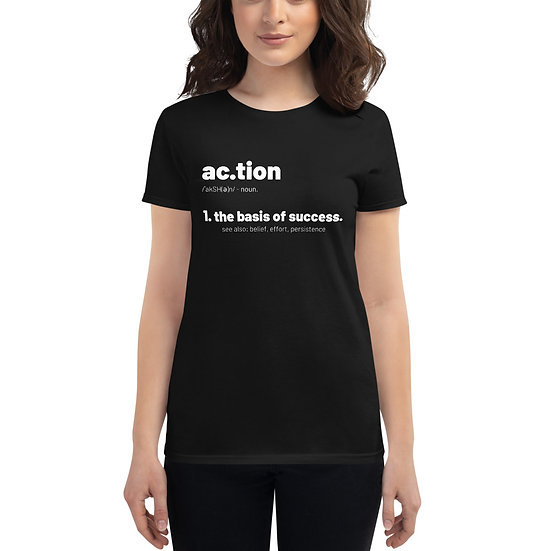 Women - Define Action - White