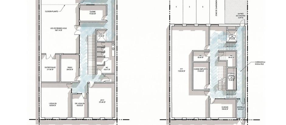 Centre communautaire: les nouveaux plans