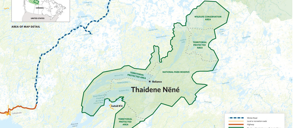 Thaidene Nene devient un parc national