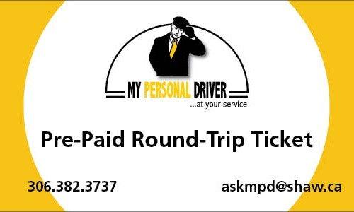 Pre-Paid Round-Trip Ticket