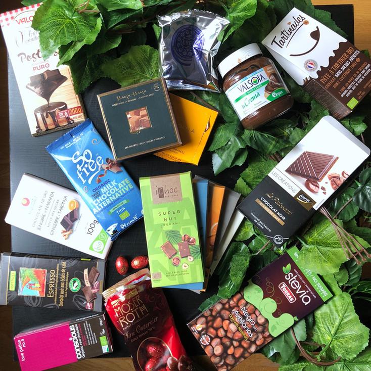 Mes chocolats vegans favoris + test des nouveaux!
