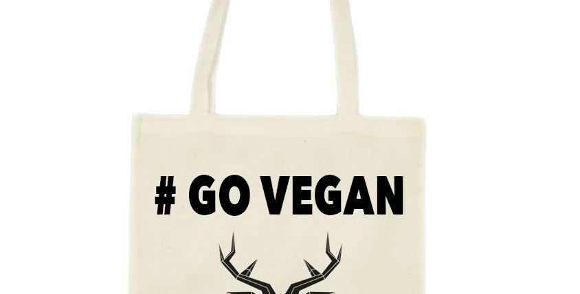 # Go Vegan Tote bag