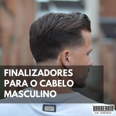 Finalizadores para o cabelo masculino