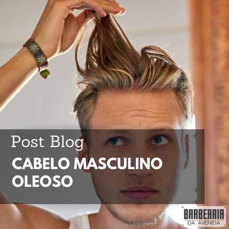 CABELO MASCULINO OLEOSO