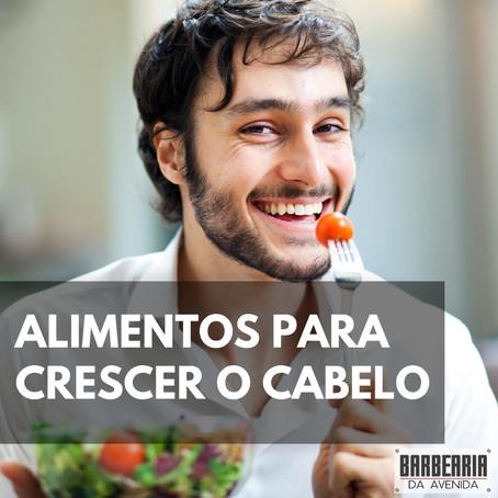 ALIMENTOS PARA CRESCER O CABELO