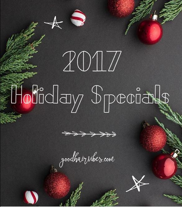 2017 Holiday Specials