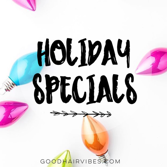 2016 Holiday Specials