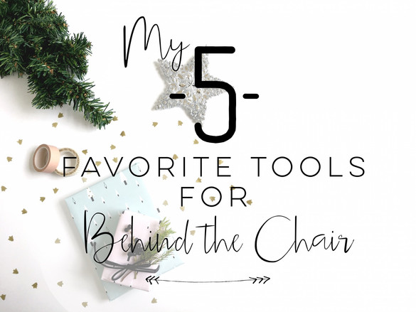 My 5 Favorite Salon Tools!