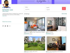 Trouver les annonces bail mobilité Airbnb