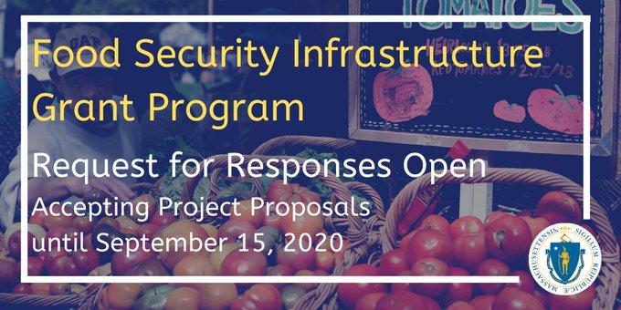 Food Security Infrastructure Grant Progr