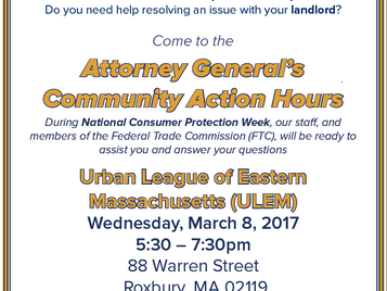 Attorney General's Community Action Hours