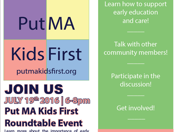 Put MA Kids First Round-table Event