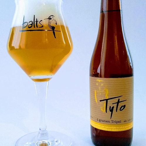 Balts Tyto 5 granen tripel  (33cl, 7,5%) per 4