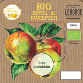 Appelsap met kweepeer (3l vatje)