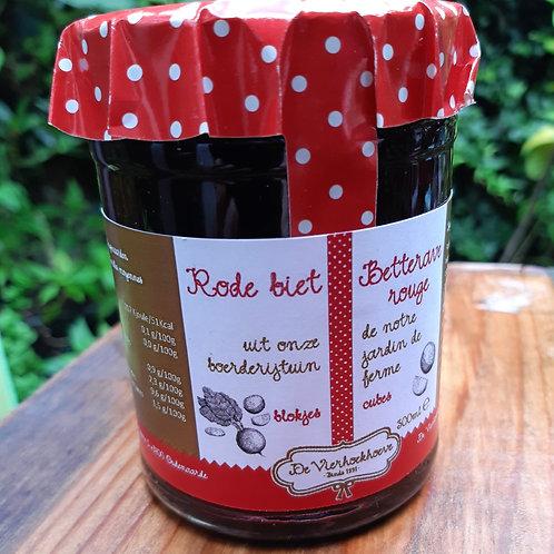 Opgelegde rode bietjes met vanille (300ml)
