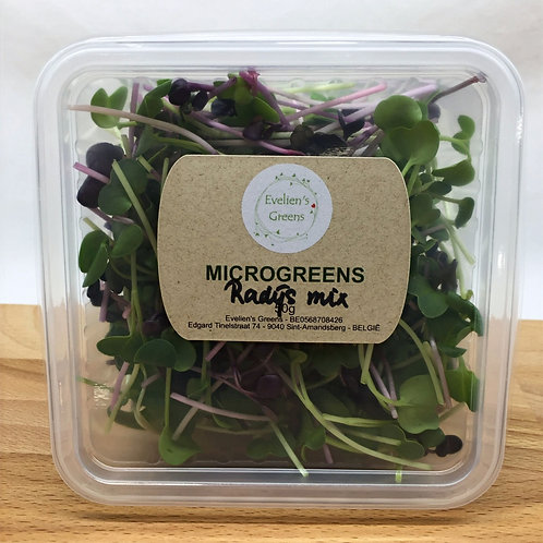 Radijs-mix microgroenten (50gr)