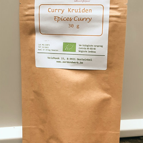 Kruidenmix Curry  (30g)