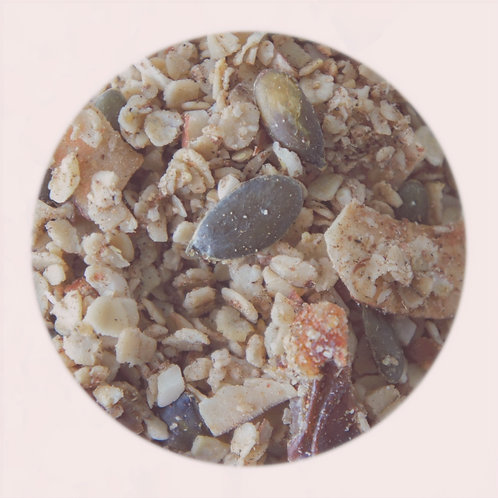 Granola met winterse kruiden (150g)