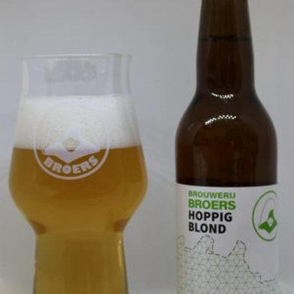 Broers Hoppig blond (33cl, 5,5%) per 4