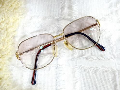90s 古董Lanvin金屬框眼鏡 需自行配鏡片 意大利古著古着名牌