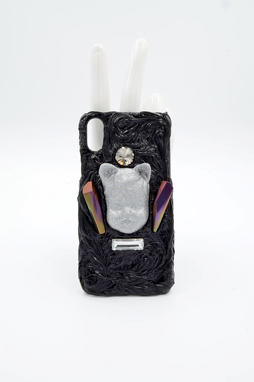 TIMBEE LO 銀色小男孩娃娃頭 iPhoneXS手機殼 可訂製其他手機型號