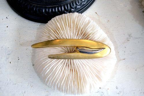 巨蟹座黃金蟹蚶皇室古典胸針 日本高級二手中古珠寶首飾