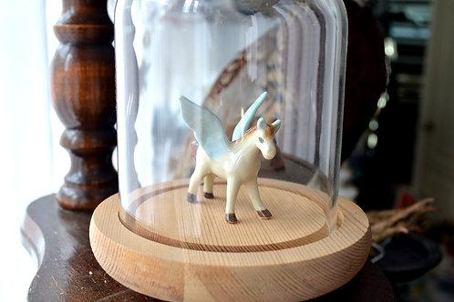 日本手工手繪陶瓷仙女飛馬 迷你尺寸 手工超細膩 娃娃屋擺設 家居裝飾