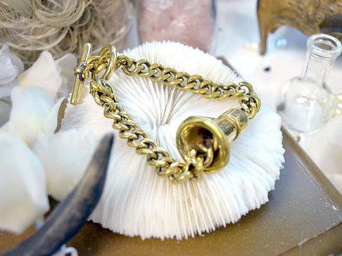 黃銅擴音器手鍊   Brass Loudspeaker Bracelet