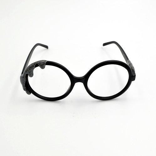 黑芝麻色雪糕眼鏡框