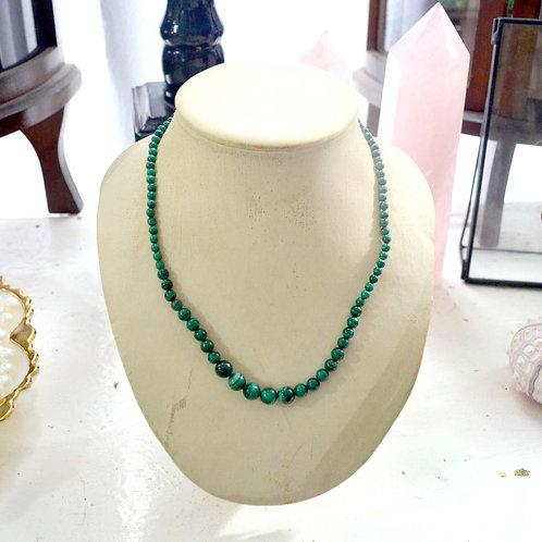 小綠松石鍍金扣短項鏈 貴婦淑女 日本高級二手古著珠寶首飾