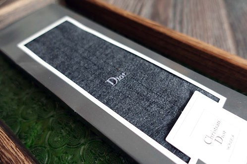 法國品牌Christian Dior Homme 多色男仕西裝襪子高級紳士古著