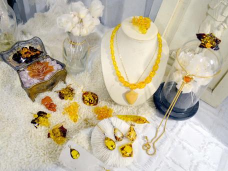 琥珀寶石 中古珠寶飾物系列登場