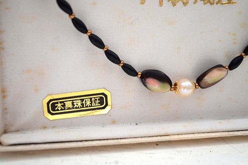 高級日本真珍珠貝殻高級御羽織紉 和服用 日本二手中古珠寶首飾