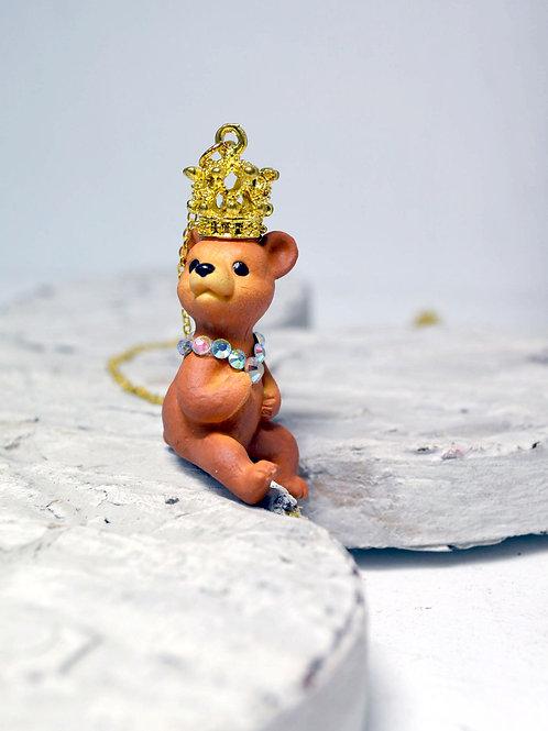 小熊皇帝項鍊