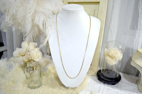復古鍍金長項鏈 貴婦少女 輕珠寶 日本高級二手古著珠寶首飾