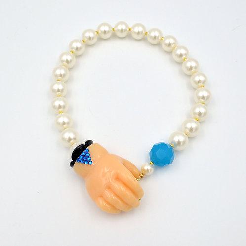 TIMBEE LO 嬰孩小手膠質珍珠項鍊