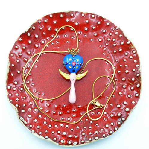 美少女變身棒頸鍊 18K鍍真金項鍊 Magic Stick Necklace with 18K Golden Chain
