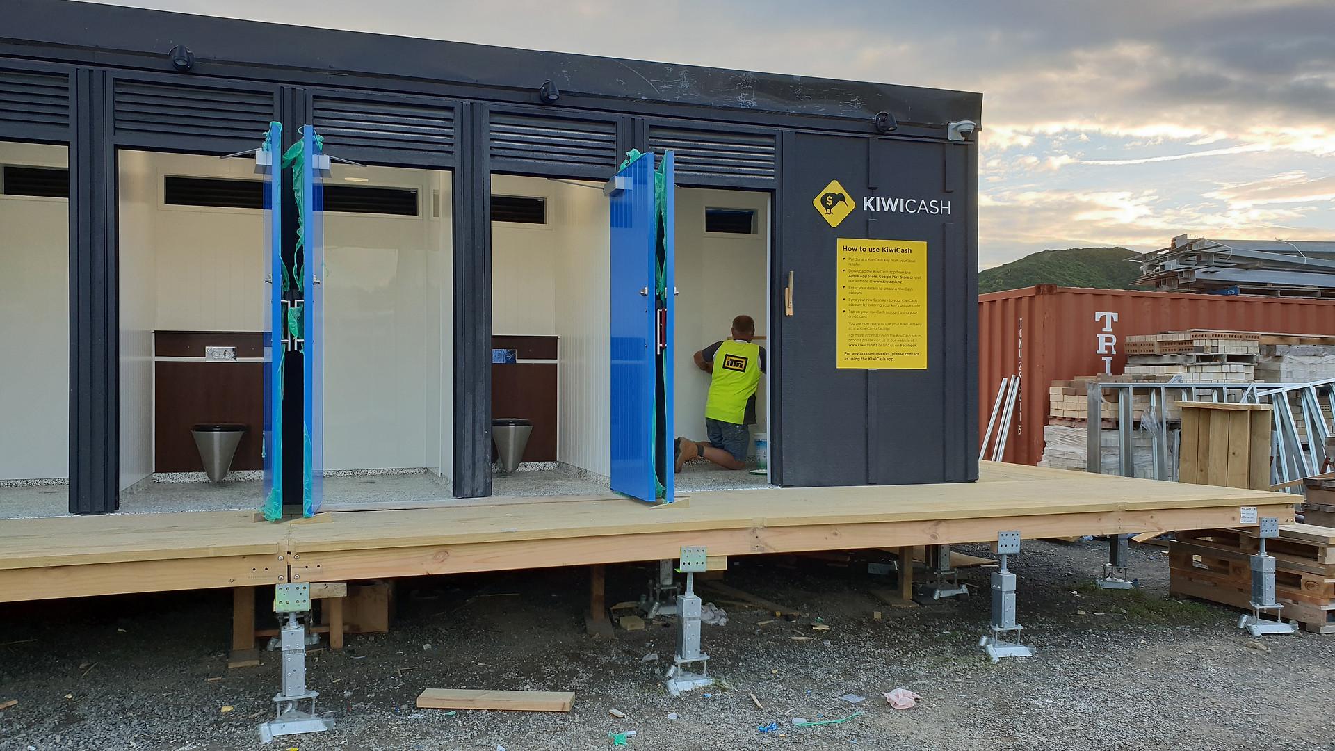 KiwiCamp Toilet Block