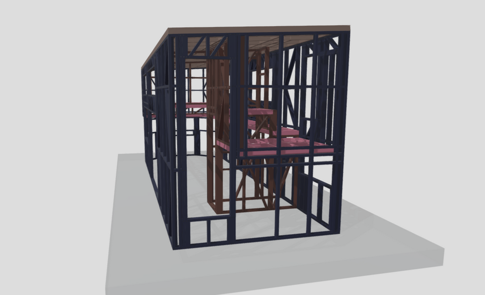 Tiny House Frames - The Silver Frames Company